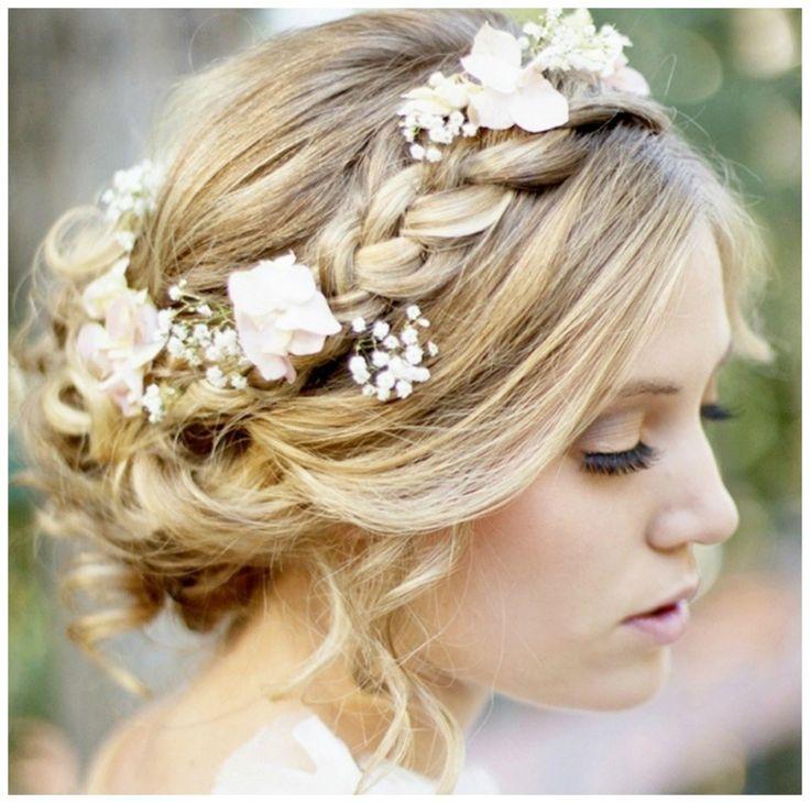 Chignon boh me tresse hair pinterest inspiration coiffures et chignons - Chignon boheme tresse ...