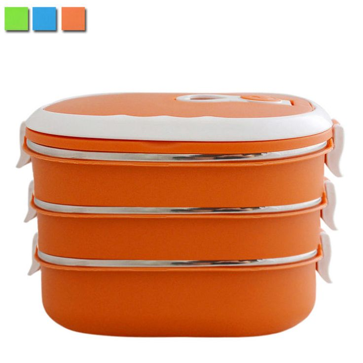 Insulated Bento Box Lunch Box Case Stainless Steel Picnic Food Container