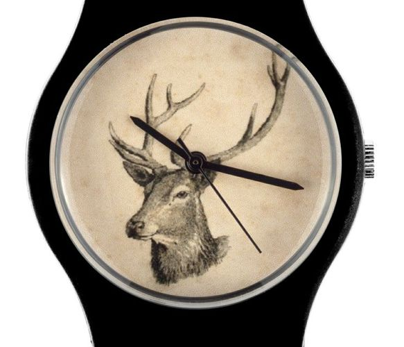 Stag watch So cool. Why do I always like men's accessories.
