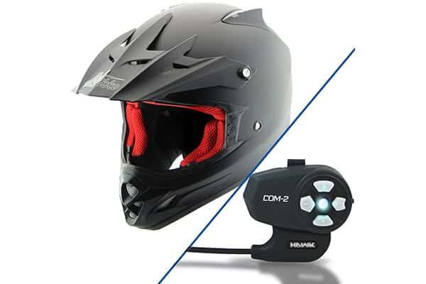Nikko N719 Motocross Bluetooth Motorcycle Helmet