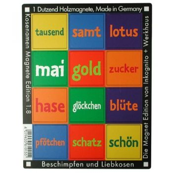 Werkhaus Shop - Kosenamen - Edition 1.8