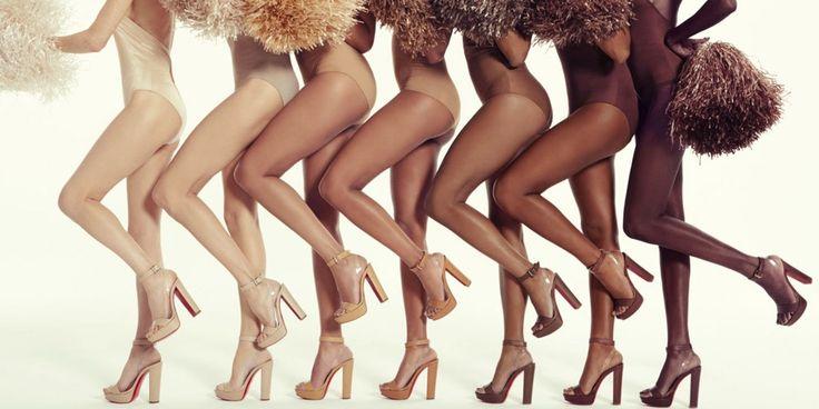 Lanzan línea de zapatos en todos los tonos de 'nude'