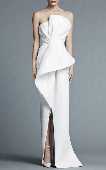 J. Mendel Bridal Spring Summer 2016 Look 11 on Moda Operandi