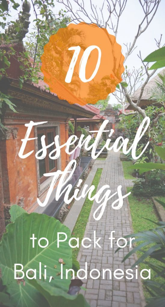 What to Pack for Bali: 10 Essential Things You CAN'T Forget!