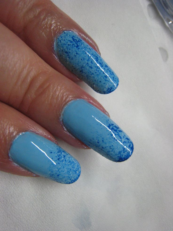 Blue Nail Trend: 1000+ Ideas About Blue Glitter Nails On Pinterest