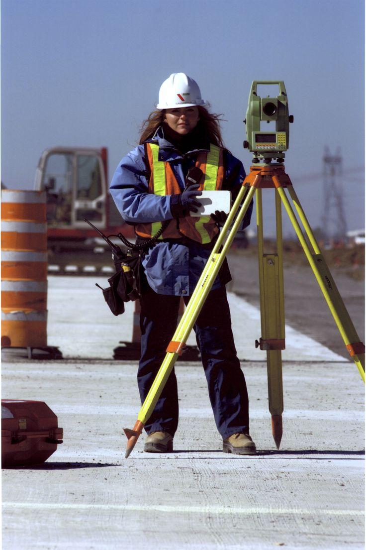 Claudia Asselin et son premier métier Technicienne en génie civil sur la C.C.Q