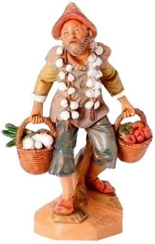 Fontanini Nathan Garlic and Vegetable Merchant [52598] Nativity Figurines http://www.amazon.com/dp/B00KRF6GVA/ref=cm_sw_r_pi_dp_YTPHwb1KP2Z6C