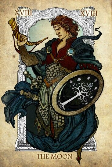Lord of the ring tarot