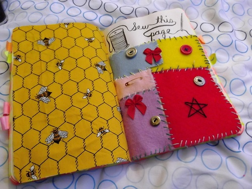Wreck This Journal - Sew this page.   Wreck this journal ...  Wreck This Journal Sew This Page