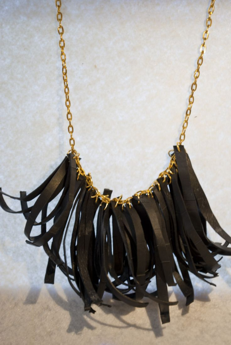 inner tube necklace/ Hula