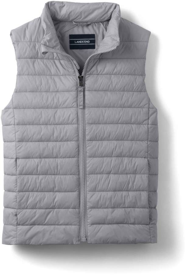fec01d4f3e31 Lands end Kids ThermoPlume Vest  toss wet TENNIS