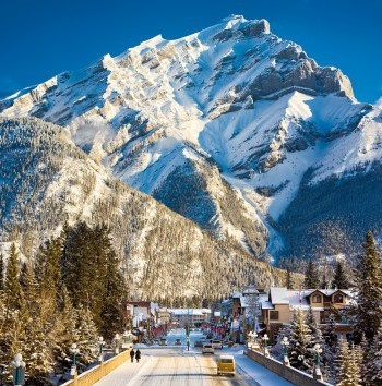 Banff Voted No.1 Skiing By Gogobot.com