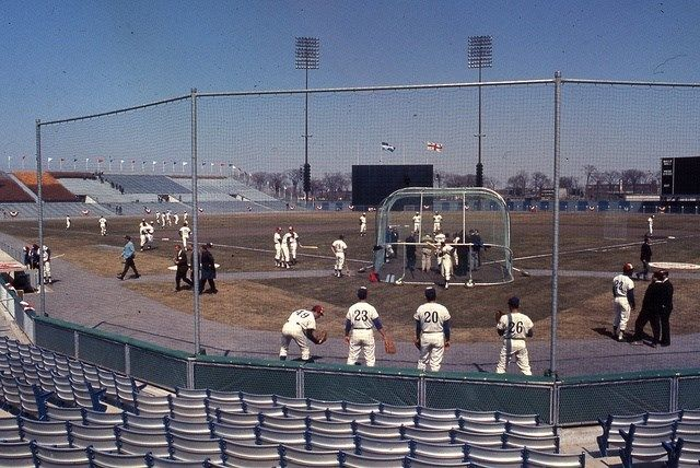 The Montreal Expos at Jarry Park, 1969