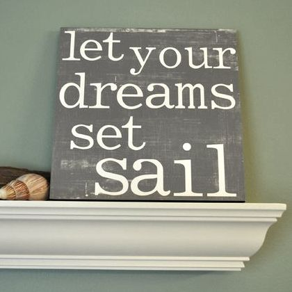 nautical quotes and sayings | Decor | Nautical Decor | Seashell Decor: DIY Art with Sayings, Quotes ...