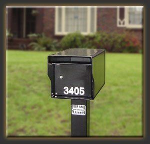 "Fort Knox Mailbox SM Standard B Small Standard Mailbox - Black by Fort Knox Mailbox. Save 26 Off!. $231.82. Here are the mailboxes that started it all! These not so ""Standard"" mailboxes can be distinguished from our other mailboxes because they have only one lockable bottom door with an above open incoming mail slot. These mailboxes can be ordered as a ""Single Service"" mailbox, or you can add outgoing mail capability. When the outgoing mail option (which includes a flag) is added, mail ..."
