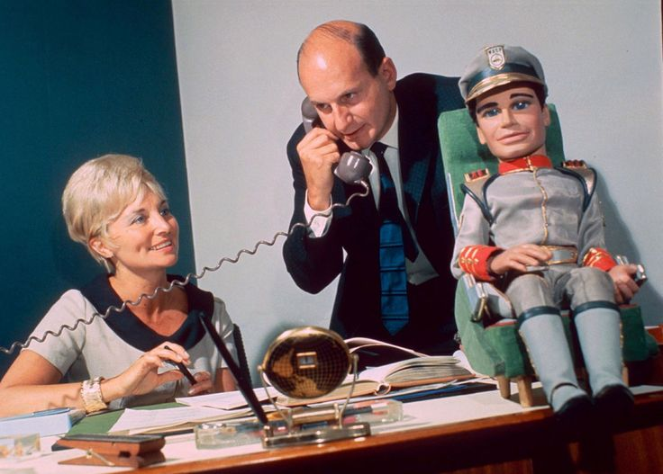 """His work made childhood incredible"": Thunderbirds creator Gerry Anderson dies…"