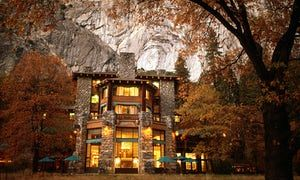 The Majestic Yosemite Hotel in Yosemite National Park. The facility had to be renamed after a private concessionaire trademarked the previous name.
