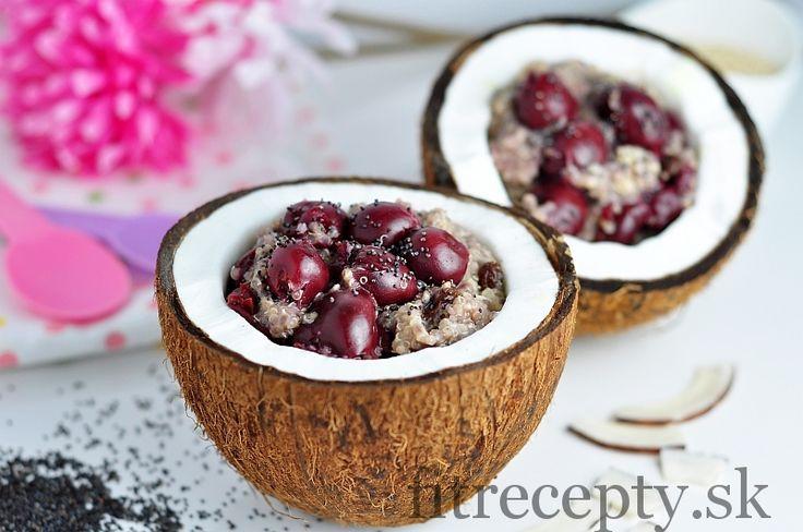 Superfood kaša s čerešňami - FitRecepty