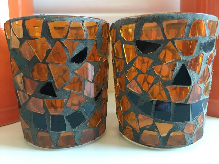 A personal favorite from my Etsy shop https://www.etsy.com/listing/540665579/vintage-jack-o-latern-mosaic-votive