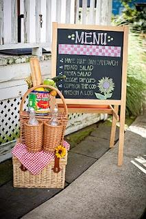 adorable picnic party