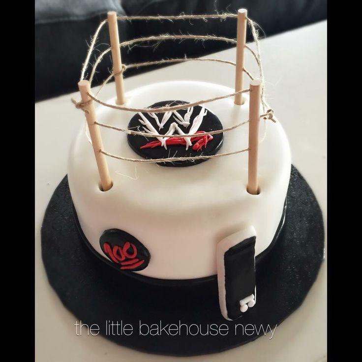 WWE Wrestling / Skate Cake