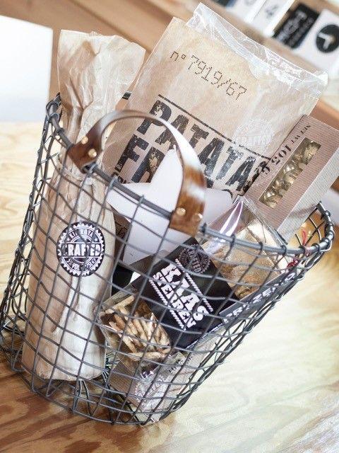 BOEREN AARDAPPELMANDEN » een originele en stijlvolle verpakking voor uw kerstpakketten