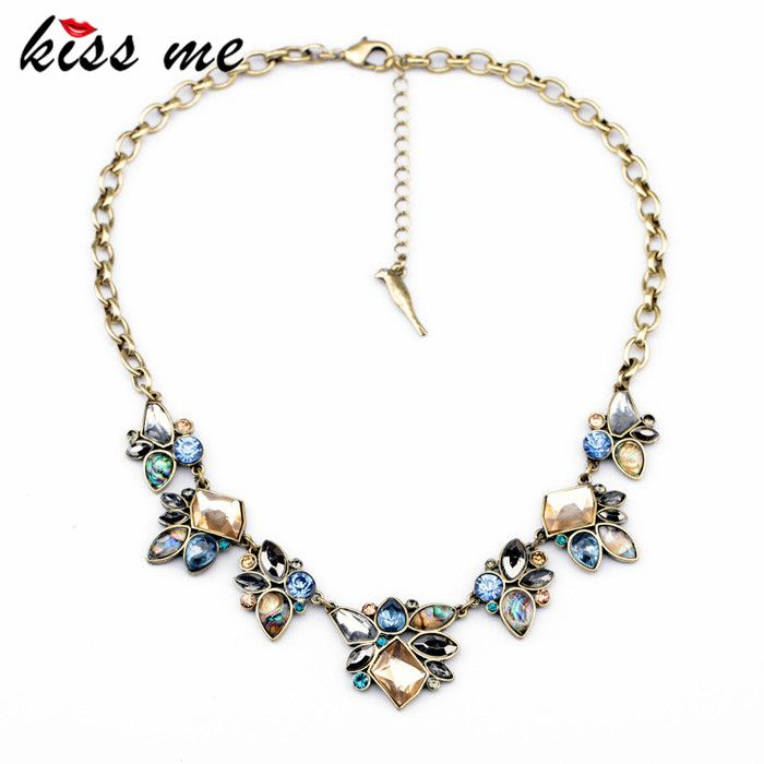 New Styles Statement Fashion Women Jewelry Antique Geometric Pendant Necklace