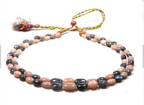 Opal and Labradorite Beads