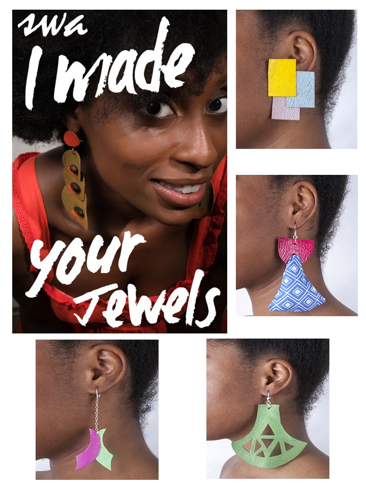 SWA is a young natural hand-made jewelry brand from Martinique you will find all our collaboration (earrings and necklaces) that make part of the second season of www.kameri-shop.com