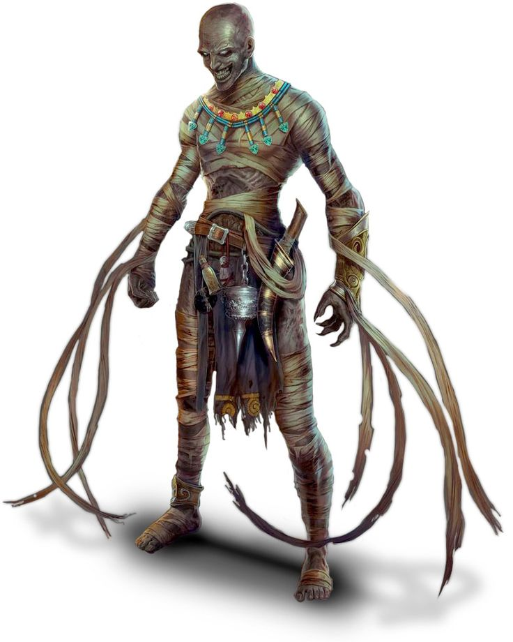 undead mummy masked
