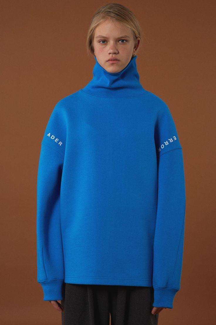 [BLUE] FW15 collection Turtleneck sweatshirt