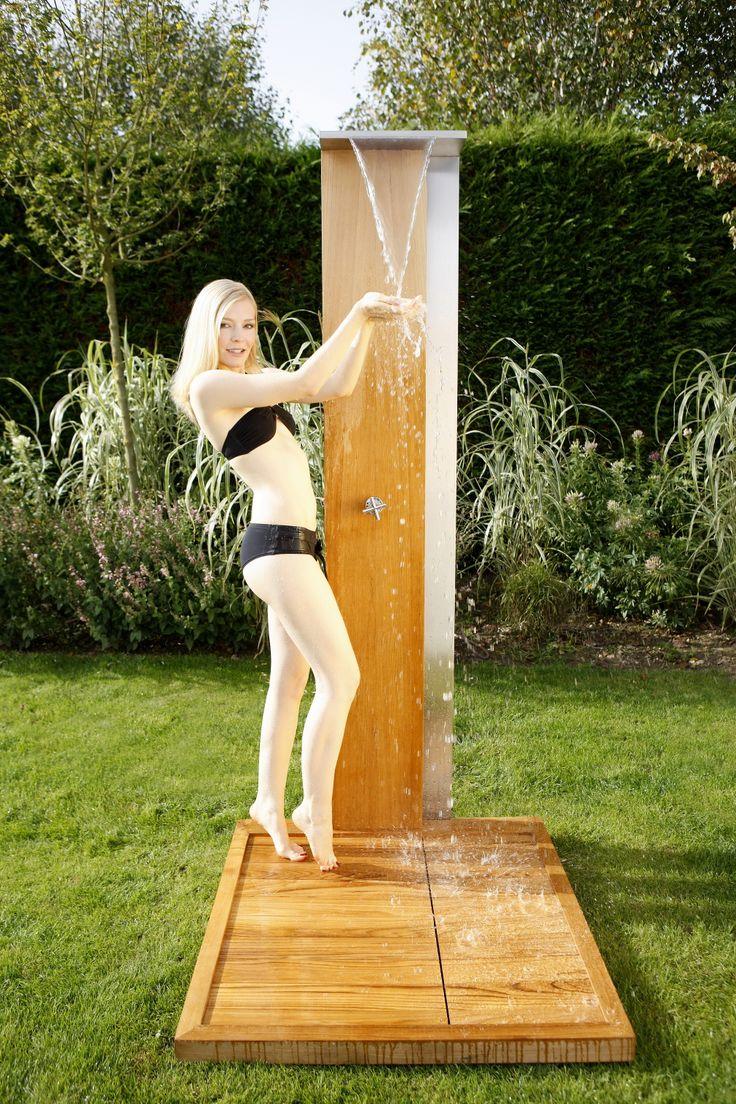 27 best gartenduschen images on pinterest duschen for Gartendusche warm kalt selber bauen