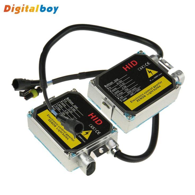 $32.80 (Buy here: https://alitems.com/g/1e8d114494ebda23ff8b16525dc3e8/?i=5&ulp=https%3A%2F%2Fwww.aliexpress.com%2Fitem%2FAC-55W-HID-Digital-Boy-Xenon-Ballast-Hid-Ballast-High-Quality-For-12V-Car-HID-Xenon%2F32571698330.html ) 2Pcs/lot AC 55W HID Digital Boy Hid Xenon Ballast High Quality For 12V Car HID Xenon Light Source Kit H1 H3 H7 H8 H10 9005 9006 for just $32.80