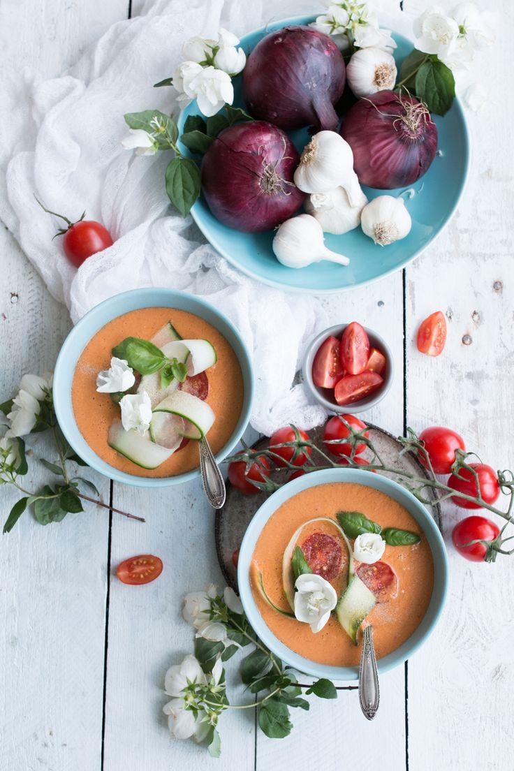 ... watermelon gazpacho ...
