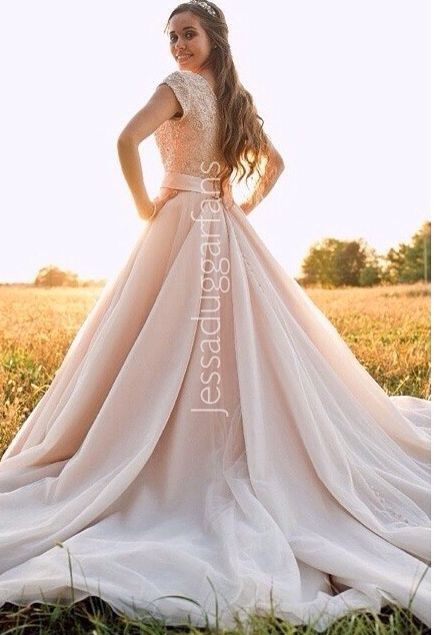 1000 images about jessa duggar ben seewald wedding 11 1 for Jessa duggar wedding dress