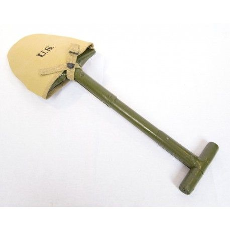 T-shovel met cover M10 Khaki (Repro