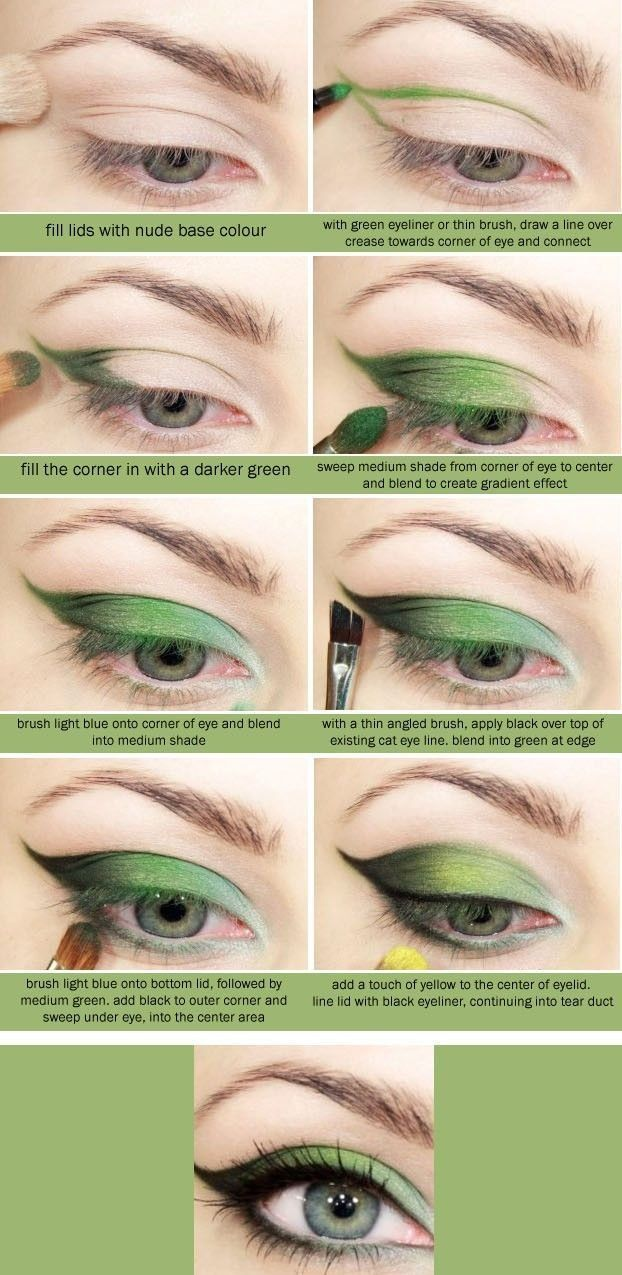 Wieosenny  make up - kosmetyczka pokazuje jak go wykonać