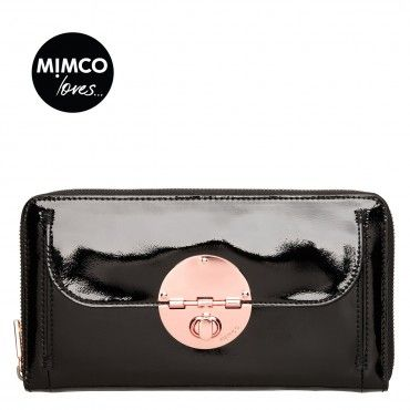 TURNLOCK TRAVEL WALLET -- Mimco WANT FOR TRAVELS TO SWEDEN!