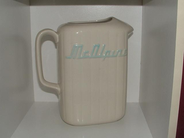 Crown Lynn McAlpine fridge jug