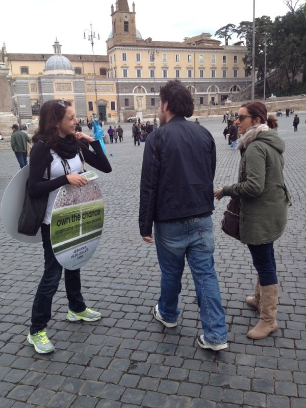 """adidas """"own the chance"""" promotion in Rome part. 2"""
