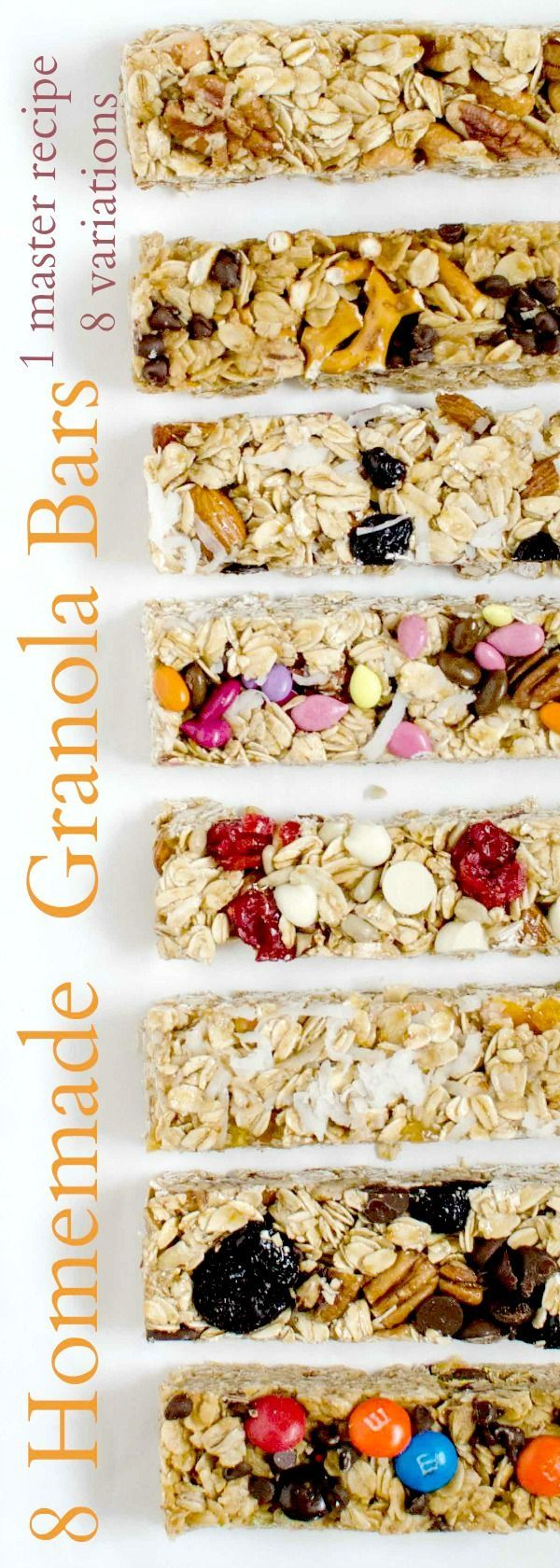 8 Easy Homemade Granola Bar Recipes You Should Try TODAY