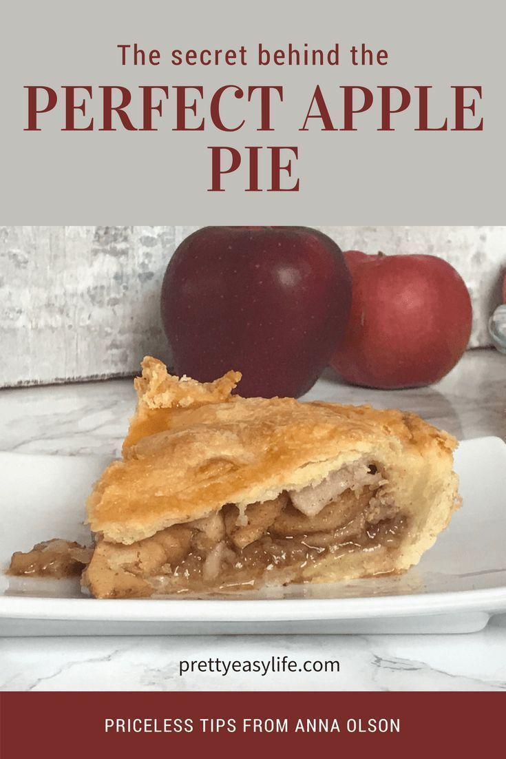 the secret behind the perfect apple pie