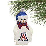 Arizona Wildcats Snowman