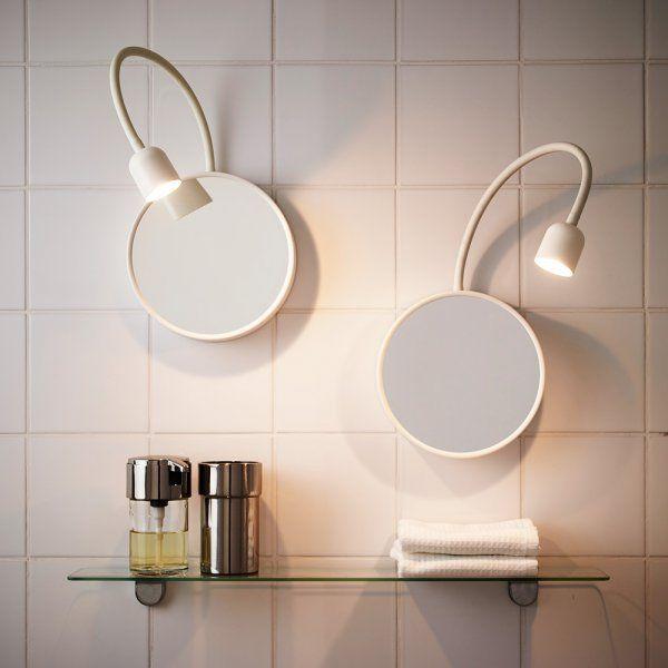 1000 id er om miroir lumineux p pinterest sanijura for Miroir de salle de bain lumineux
