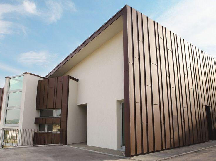 Lastre e pannelli in metallo ed HPL Sistema di rivestimento per facciate