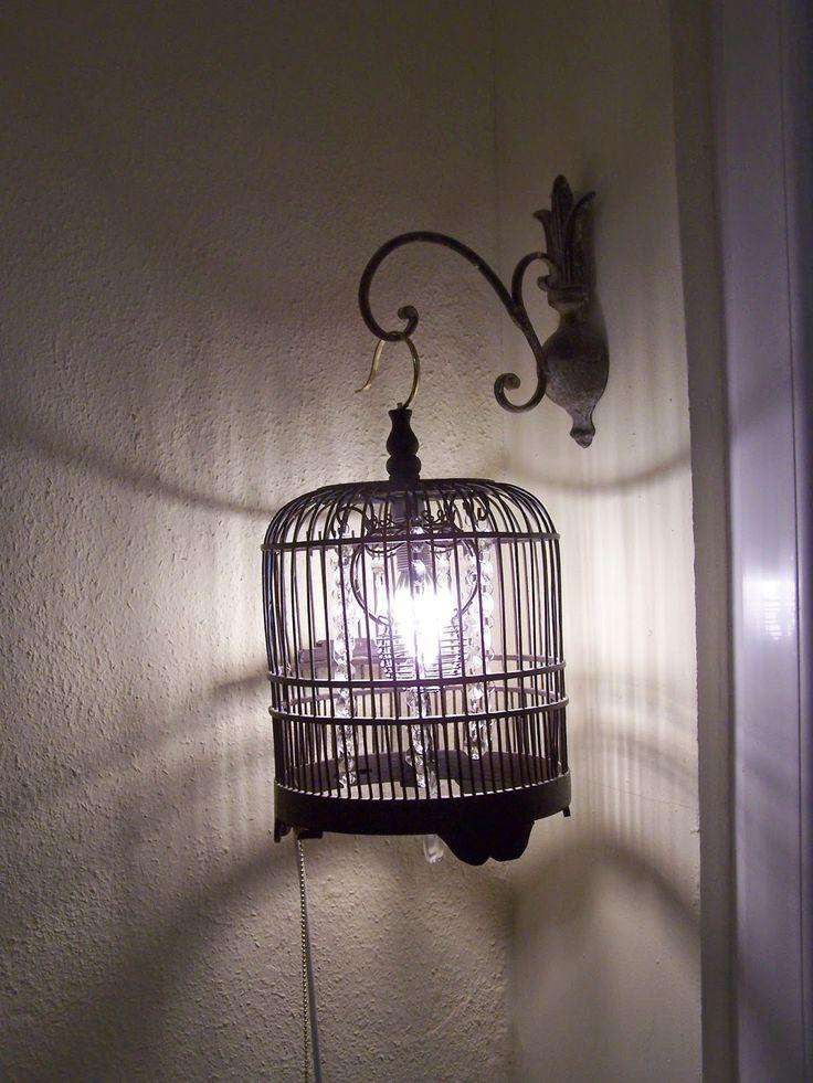 Lampa z klatki