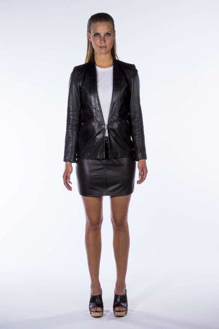 Stine Kim Design black and white outfit aw14 #blackandwhite