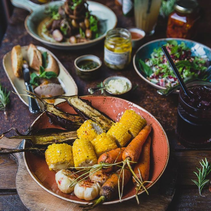 Grilled vegetables #meatbybeat #meatrestaurant #steakhouse #steaks #azerbaijan #baku #restaurants #food #cuisine #beef #veal #vegetables