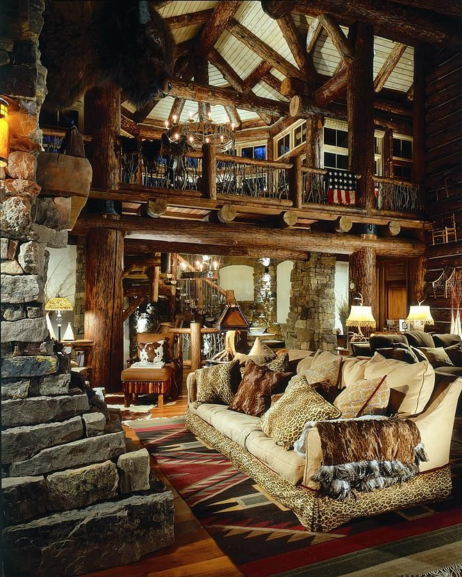 15 Best Rustic Lodge Residences Images On Pinterest