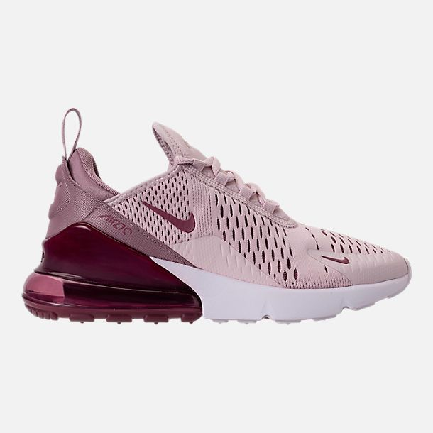 wholesale dealer 878bb 6b5e4 Right view of Women s Nike Air Max 270 Casual Shoes in Barely Rose Vintage  Wine Elemental